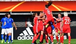 Nazionale, Europei femminili: esordio amaro per l'Italia, ko con la Russia