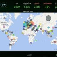Wannacry e Notpetya: ancora 50.000 computer a rischio, anche in italia