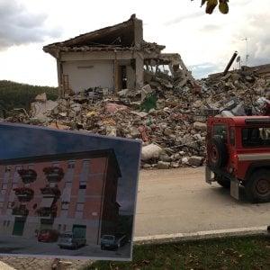 Terremoto, cinque indagati per il crollo delle case popolari di Amatrice