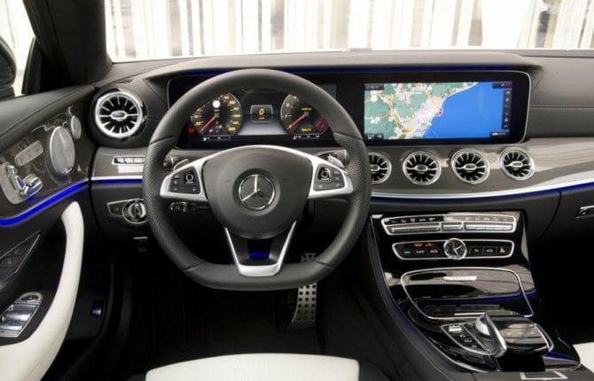 Mercedes Classe E, parla con lei