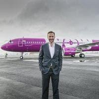 """Wow Air pronta  ai saldi dei cieli: """"Pagheremo i passeggeri per volare"""""""