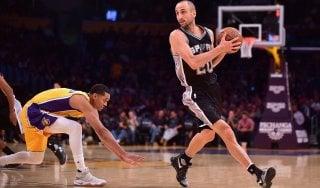 Basket, Nba: Ginobili per i 40 anni si regala un'altra stagione a San Antonio