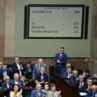 Polonia, Parlamento approva riforma Corte suprema: proteste in piazza in tutto il Paese