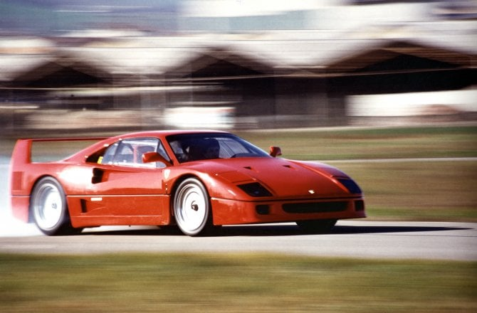Ferrari F40, 30 anni e non sentirli