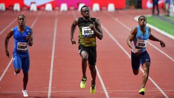 """Atletica, Diamond League: Bolt in formato Mondiale, vittoria nei 100 metri a Montecarlo in 9""""95"""