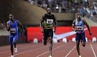 """Bolt in formato Mondiale Montecarlo: vince 100 in 9""""95"""