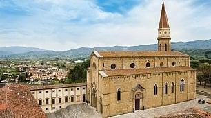 Arezzo, salotto del '500 -   foto