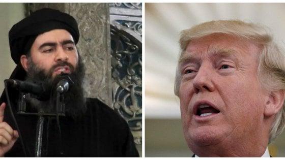 """Isis, Trump accusa Nyt: """"Ha fatto fallire piano per uccidere Al-Baghdadi"""""""