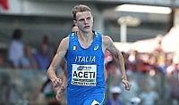 Ancora un oro per l'Italia  Aceti vince i 400 metri