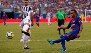 Super Neymar affonda la Juventus: Barcellona vince 2-1