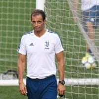 Juventus, Allegri: ''Squadra indietro, ottimo test''. Chiellini: ''Bonucci?