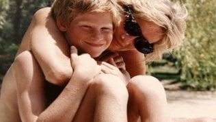 Lady D con il figlio Harry