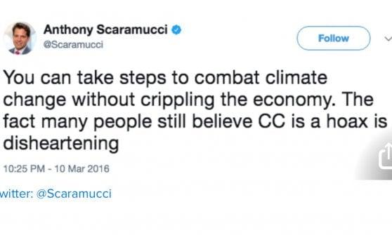 """Usa, Scaramucci cancella i vecchi tweet: definiva Trump """"ciarlatano"""""""