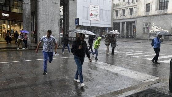 """Meteo, allarme temporali al Nord. Climatologo: """"Ma per la siccità non è soluzione"""""""