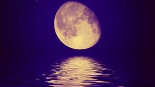 """""""C'è acqua sulla Luna"""".La scoperta fa sognare"""