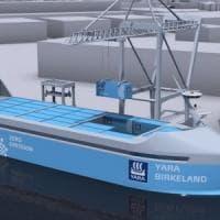 Norvegia: arriva la 'Tesla dei mari', la prima nave cargo che si guida da