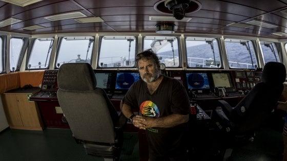 «La mia vita tempestosa, da capitan Greenpeace»