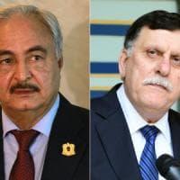 Libia, Serraj e Haftar: l'Eliseo scommette sull'intesa