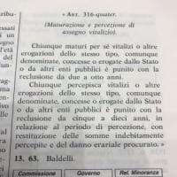 """La provocazione di Baldelli (FI), vicepresidente della Camera: """"Vitalizio diventi reato"""""""