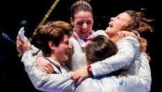 Un altro oro al femminile: anche la sciabola è dream team