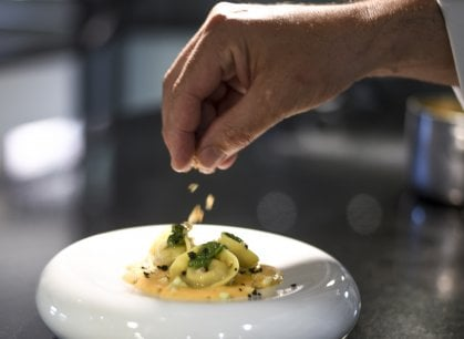 Osteria del Borro: una terrazza affacciata sulla bellezza