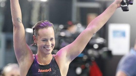 Nuoto, Mondiali; Pellegrini oro e annuncio: ''E' il mio ultimo 200''