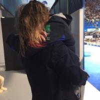 Mondiali di nuoto, il lungo abbraccio tra Pellegrini e Malagò