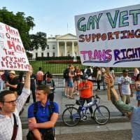 Usa, no ai transgender nelle Forze armate: proteste contro la decisione di Trump
