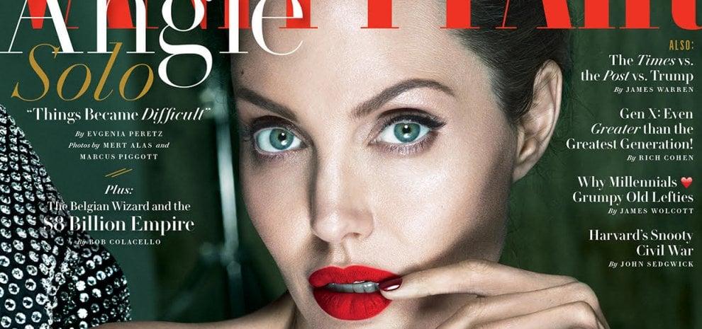 """Angelina Jolie rompe silenzio dopo il divorzio e racconta: """"Agopuntura mi ha salvato da paresi facciale"""""""