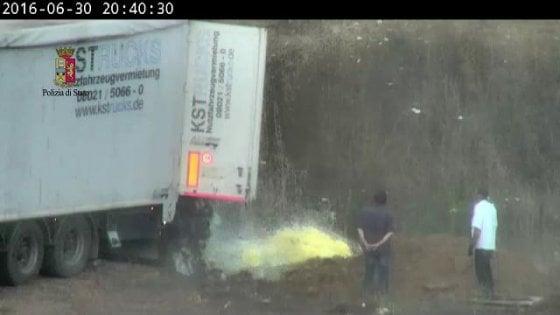 Scoperta enorme discarica rifiuti tossici in provincia di Latina: 22 arresti