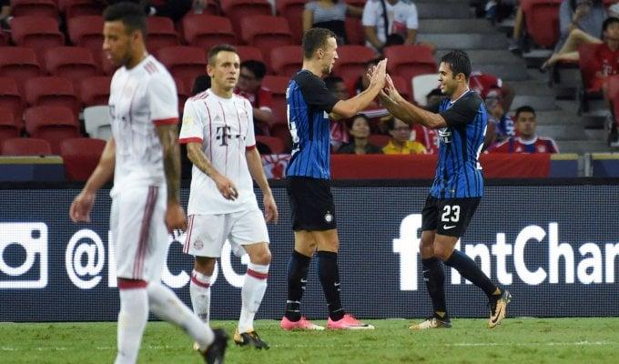 L'Inter è già in forma: 2-0 al Bayern Monaco