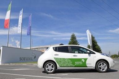 Nissan al via il primo car sharing aziendale privato