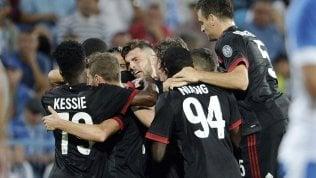 Craiova-Milan 0-1: decide Rodriguez, Europa League a un passo