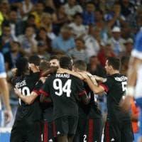 Craiova-Milan 0-1, buona la prima in coppa: decide un gol di Rodriguez