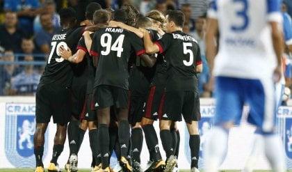 Il Milan vince a Craiova   foto   Primo passo per l'Europa