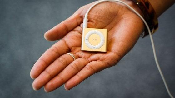 Addio iPod Nano e Shuffle: Apple manda in pensione i lettori musicali