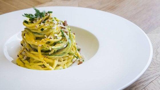 Roma, la cucina flexitariana di Fiore, tra sapori d'Italia e gusto crudo