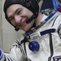 La Soyuz è partita, così Nespoli torna nello spazio. Il saluto all'Italia dalla Sazione...