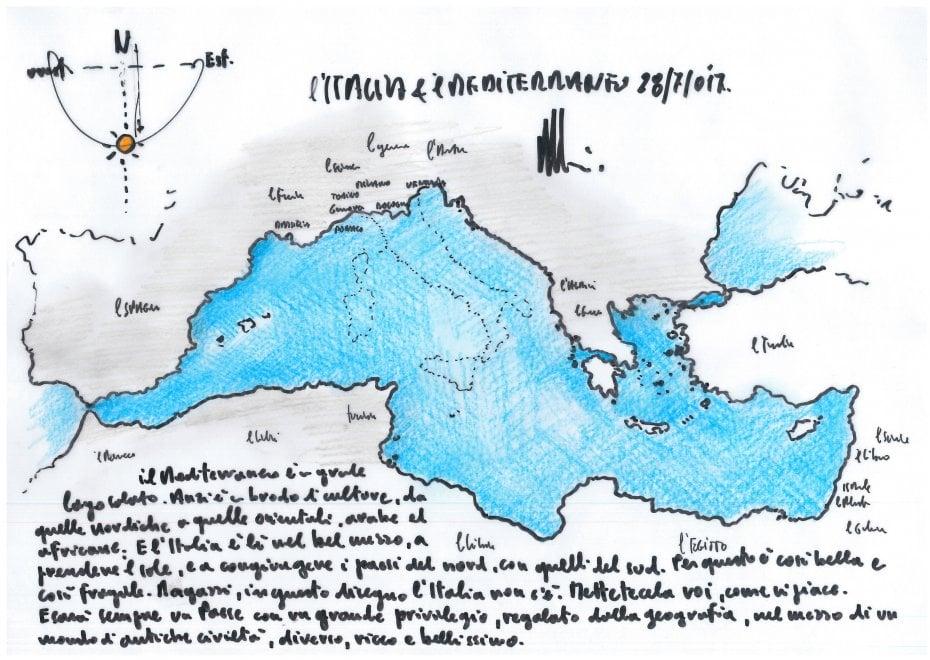 """Renzo Piano: """"Ragazzi, disegnate l'Italia come vi piace"""". Le immagini dei lettori / 1"""