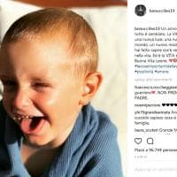 """Bonucci a un anno dall'intervento che ha salvato il figlio Matteo: """"Ci hai regalato una nuova luce"""""""