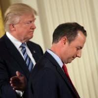 Usa, Trump licenzia Priebus:  Kelly nuovo capo di gabinetto