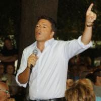 """Renzi: """"Passo indietro da candidato premier? Chi governa lo decidono gli italiani"""""""