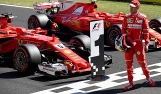 """F1, Ungheria; Vettel: """"Questa Ferrari è incredibile"""""""