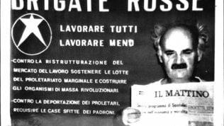 Ciro Cirillo fotografato dalle Br durante la prigionia