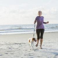 Il segreto per rimanere attivi? Portare a spasso il cane. E funziona anche da anziani