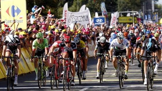 Ciclismo, Giro di Polonia: seconda tappa a Modolo, van Poppel nuovo leader