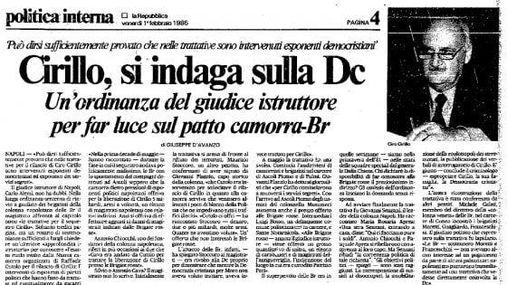 Rapimento Cirillo: le Br, Cutolo e la Dc. Così D'Avanzo raccontò la trattativa. E il suo clamoroso prezzo