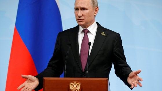 """Russia, Putin: """"Entro settembre via 755 diplomatici Usa"""""""