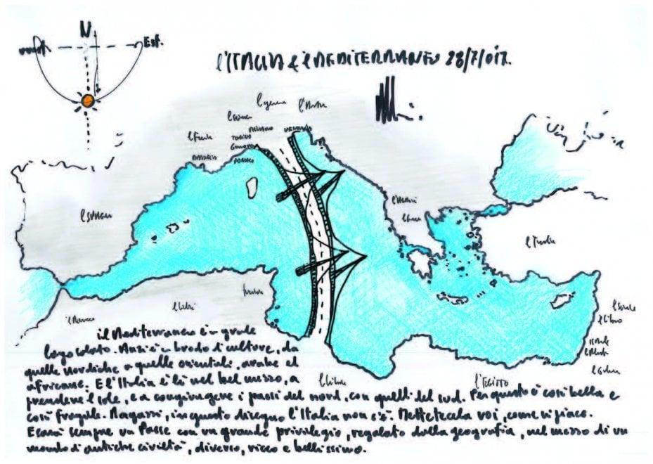 """Renzo Piano: """"Ragazzi, disegnate l'Italia come vi piace"""". Le immagini dei lettori / 4"""