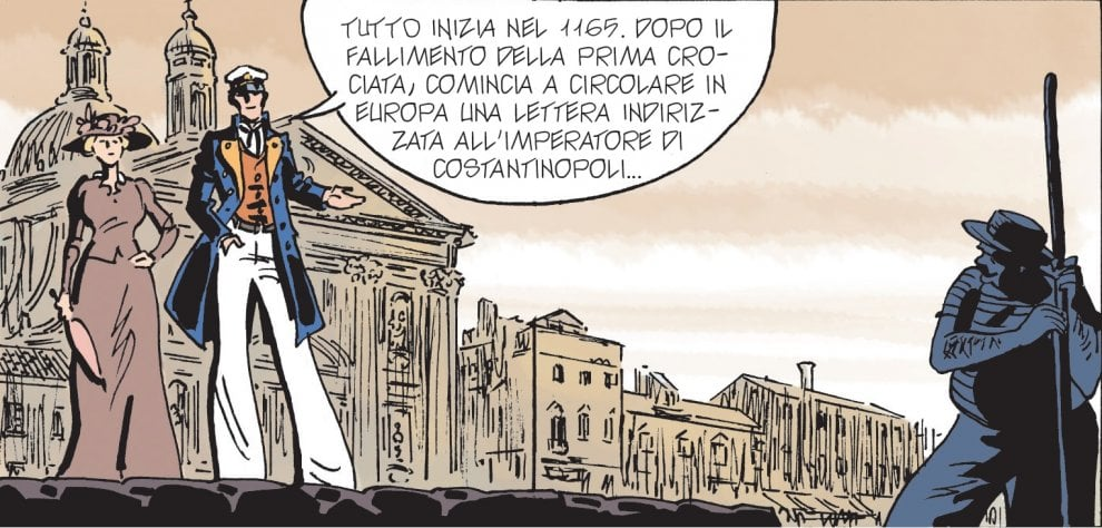 """Anteprima di """"Equatoria"""": la nuova avventura di Corto Maltese"""